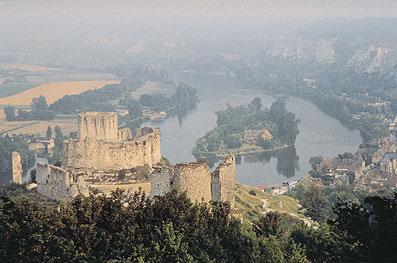 Chateau Gaillard Vallée de Seine